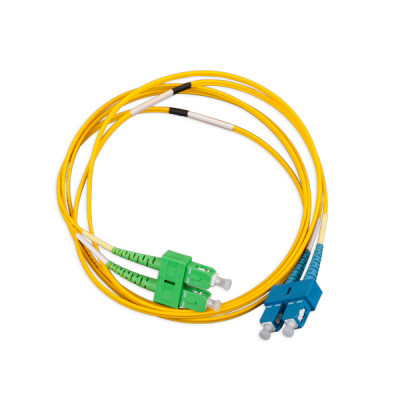 LANmark-OF Slimflex Patch Cord DSC/APC-DSC/UPC SM LSZH 2m Yellow :: Волоконно-оптические шнуры
