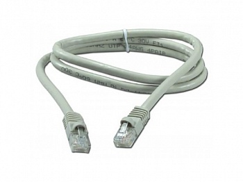 LANmark-5 Patch Cord Cat 5e Unscreened PVC 1m Grey :: LANmark-5