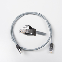 LANmark-6 10G Patch Cord Cat 6 500MHz Screened LSZH 1m Grey :: LANmark-6