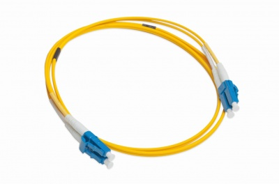 LANmark-OF Slimflex Patch Cord DLC/UPC-DLC/UPC SM LSZH 3m Yellow :: Волоконно-оптические шнуры