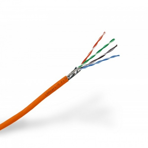 LANmark-5 F1/UTP AWG24 Cat 5e 155MHz LSZH Orange 305m box :: LANmark-5