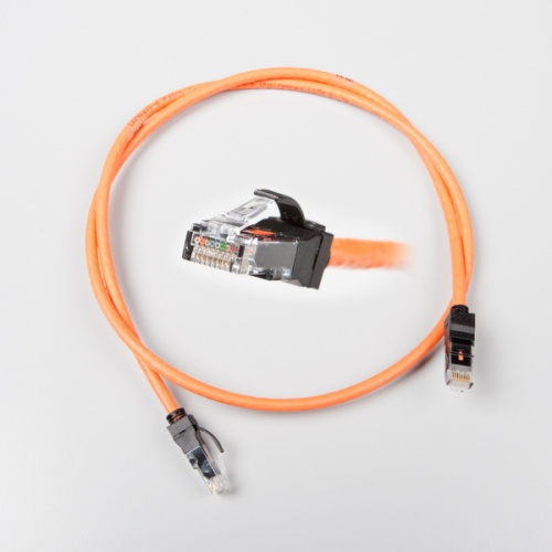 LANmark-6A Ultim Patch Cord Cat 6A Screened LSZH 1m Orange :: LANmark-6A