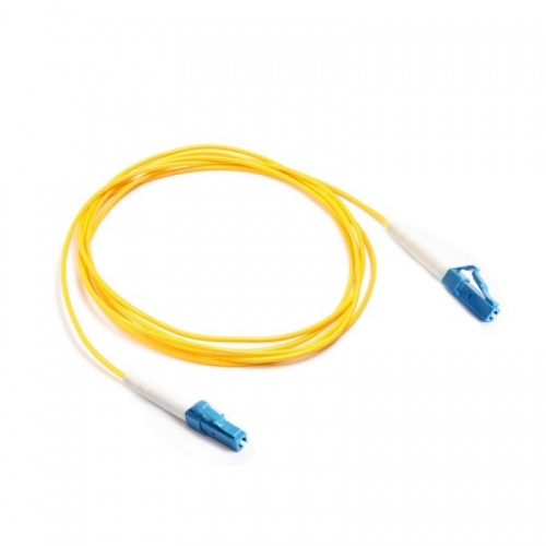 LANmark-OF Ruggedised Simplex Patch Cord LC-LC Singlemode LSZH 10m Yellow :: Волоконно-оптические шнуры
