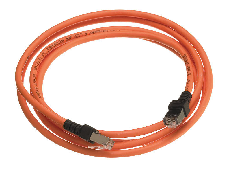 LANmark-5 Patch Cord Cat 5e Screened LSZH 1m Orange :: LANmark-5